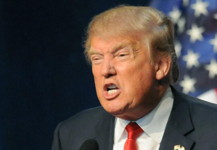 El presidente de Estados Unidos tuvo que interrumpir su discurso ante las sonoras carcajadas del público. (Avaaz)