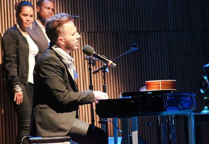 El cantautor terminó su participación en el reality show con una fuerte discusión con el juez Cristian Castro. (Foto de archivo/Notimex)