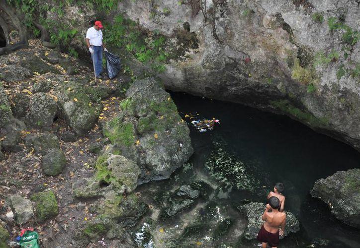 En el municipio de Benito Juárez se han encontrado 100 cuerpos de agua. (Jesús Tijerina/SIPSE)