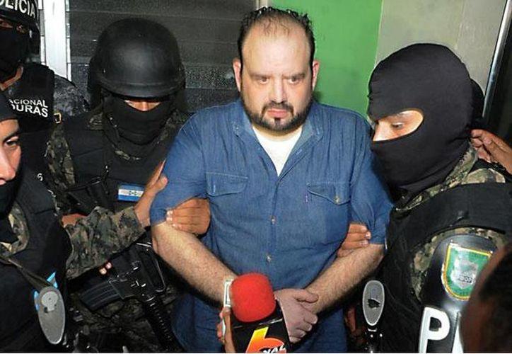 José Miguel 'Chepe' Handal Pérez fue capturado la noche del jueves en las cercanías de un hospital privado de San Pedro Sula.(atodomomento.com)