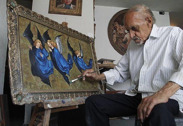 El maestro Trejo Castro es reconocido como uno de los artistas plásticos de mayor renombre. (Milenio Novedades)