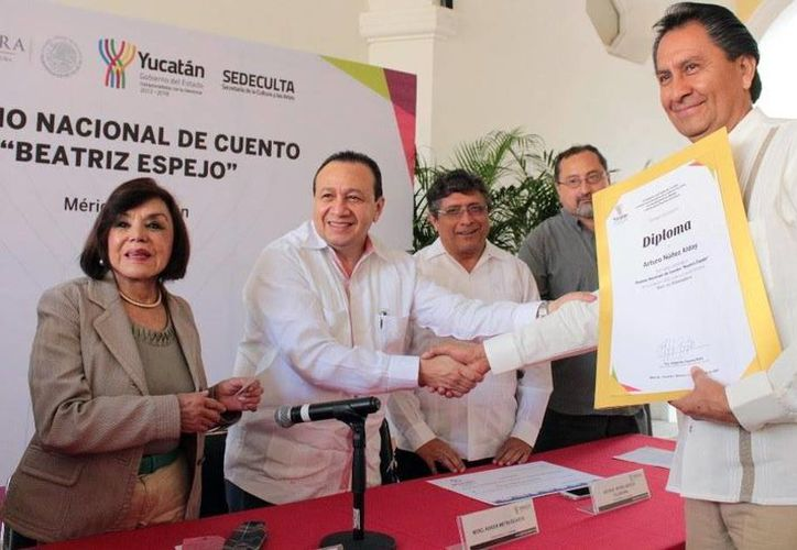 Arturo Núñez Alday fue reconocido por el cuento <i>Morir en Shakespeare</i>. (SIPSE)