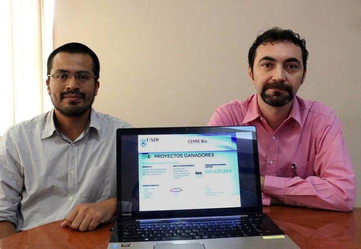 Luis Morales Mendoza y Julio Sacramento Rivero participan en el megaproyecto del Centro Mexicano de Innovación en Energía; ofrecerán apoyo científico y tecnológico. (Milenio Novedades)