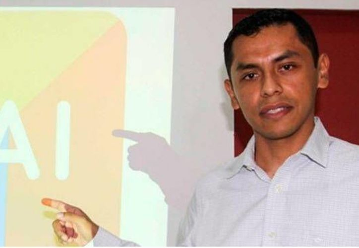 José Israel Figueroa Salgado elaboró la aplicación para celulares, YAI con las actividades sociales de Quintana Roo. (Contexto/Internet)