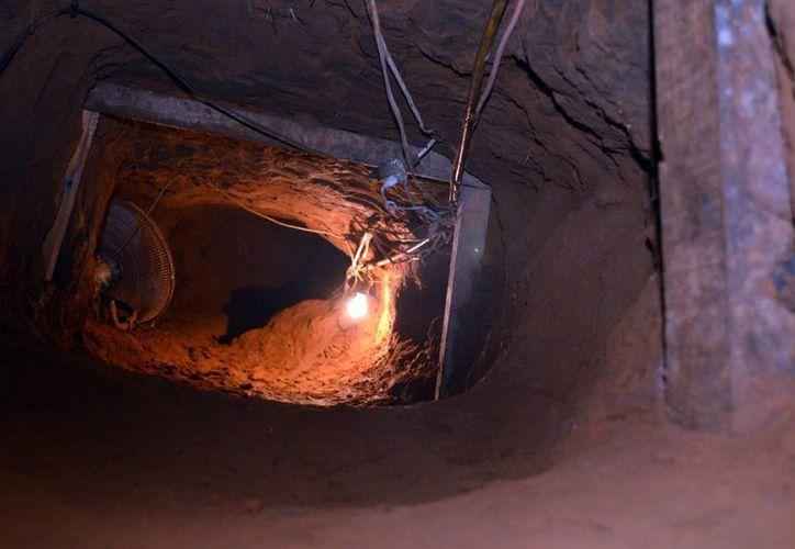 El túnel no tenía salida. (Notimex)