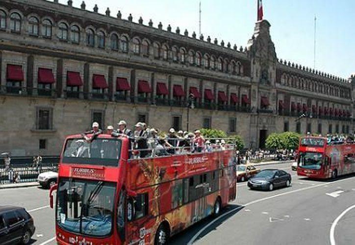El servicio de Turibús funciona con 95% de ocupación en la Ciudad de México, Mérida, Puebla y Campeche. (Internet)