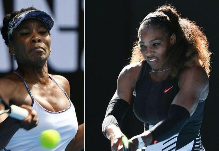 Hasta ahora Serena, ganadora de 23 Grand Slams, tiene 17 triunfos ante su hermana mayor. (Greg Wood / AFP)