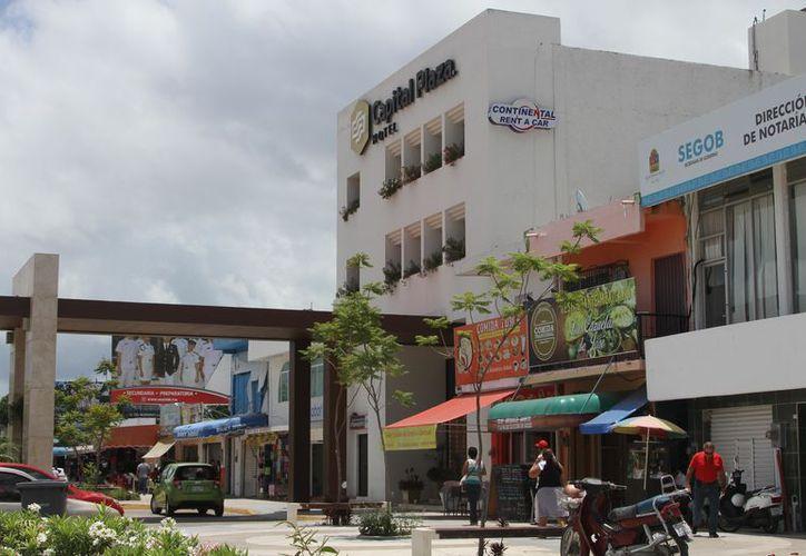 El paso de Franklin afectó al sector hotelero de la zona centro y sur del estado. (Joel Zamora/SIPSE)