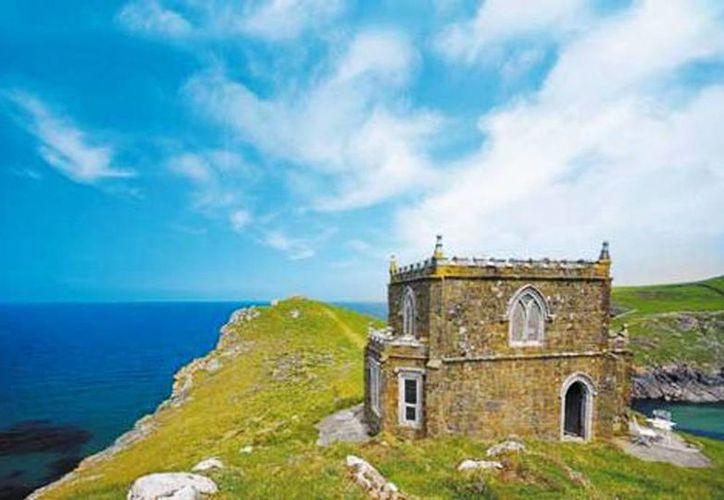 Doyden Castle en Cornwall. (Cortesía/Milenio)