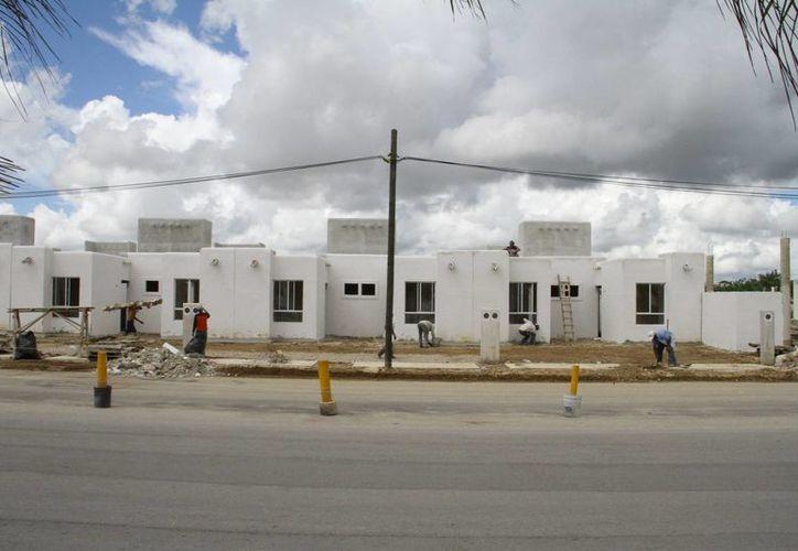 Los subsidios son para la compra de vivienda. (Miguel Ángel Ortiz/SIPSE)