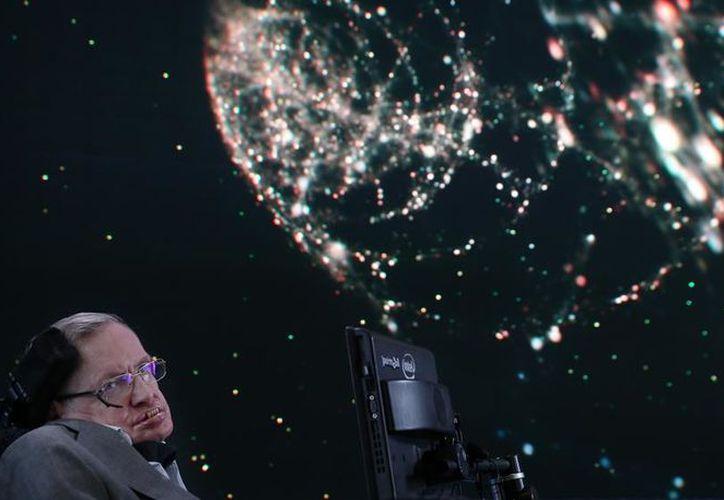 Stephen Hawking  no estuvo de manera presencial en el festival de este año por motivos de salud. (Jemal Countess / Getty)