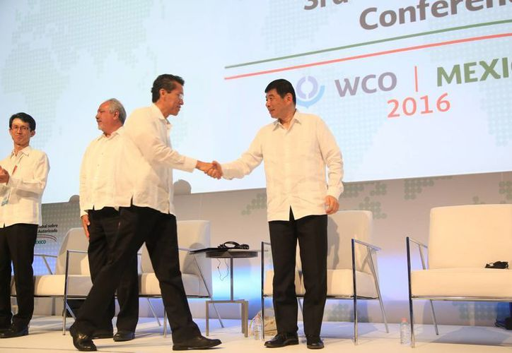Realizan tercera conferencia global sobre operador económico autorizado. (Luis Soto/SIPSE)