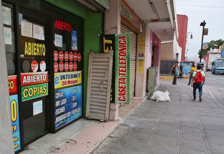 Los cibercafés cada vez tienen menos clientes a pesar de los múltiples servicios que ofrecen. (Milenio Novedades)