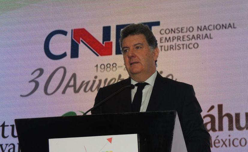 Presidente del Consejo Nacional Empresarial Turístico, Pablo Azcárraga. (Foto: Facebook/@CNET.ORG.MX)