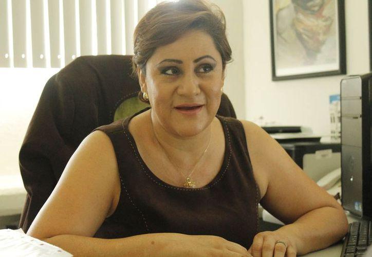 Elda Leticia León Vite dijo que el estudio se hizo en coordinación con 16 universidades del país y 11 a nivel Latinoamérica. (Jesús Tijerina/SIPSE)