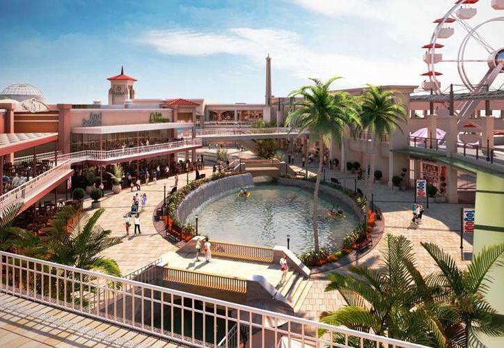 La plaza se edificará en una área de la Riviera Maya. (www.gicsa.com.mx/)