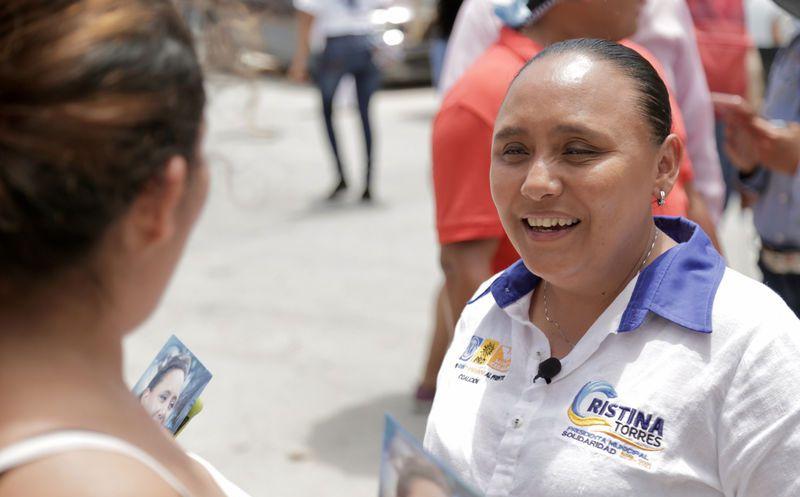 Cristina Torres asegura que su propuesta se apegará a las leyes de protección de datos personales.