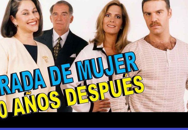 """Se proyectará la nueva versión de la exitosa telenovela """"Mirada de Mujer"""". (Redacción)"""