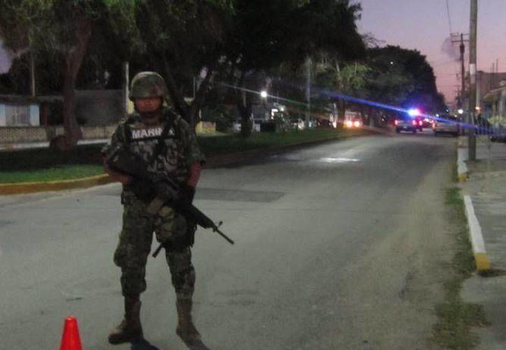 """Elementos de la Marina arrestaron a jefe de sicarios del """"Chapo"""" Guzmán. (Archivo/SIPSE)"""