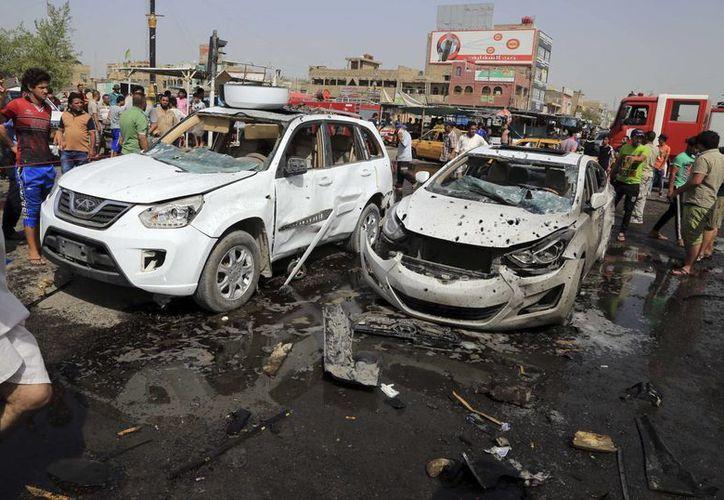 El Estado Islámico se responsabilizó de este atentado y en un comunicado dijo que estaban dirigidos a las milicias chiís. (Agencias)