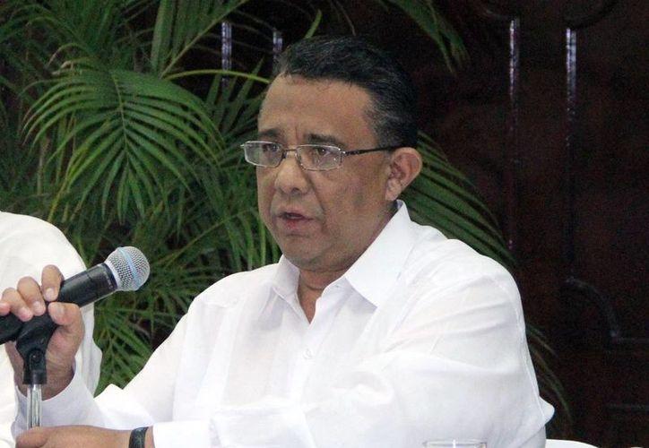 Mario Can Marín habló sobre el efecto del recorte federal. (Milenio Novedades)