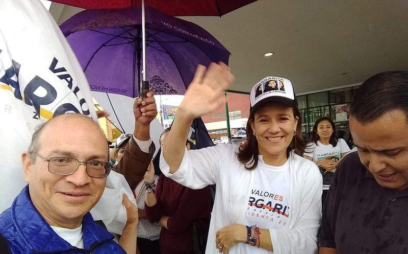 Margarita Zavala afirmó que es la única candidata que da la cara a la ciudadanía. (Twitter)
