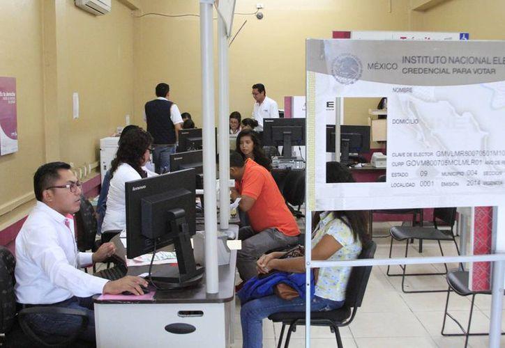 Alrededor de 59 mil 872 ciudadanos quintanarroenses están en riesgo de no poder votar. (Ángel Castilla/SIPSE)