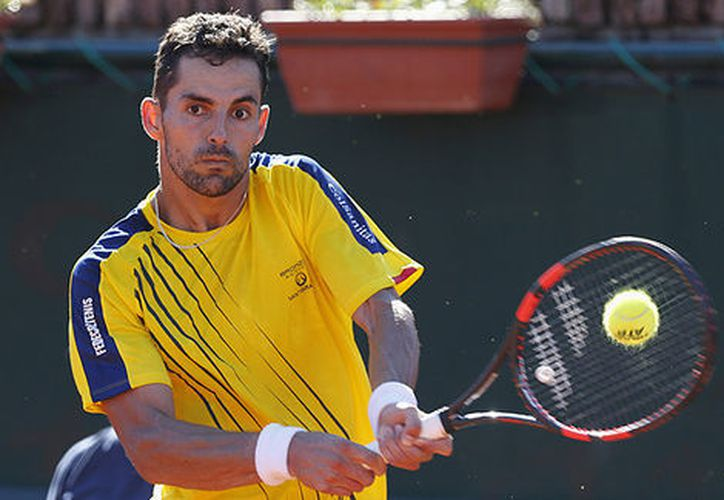 Santiago Giraldo fue derrotado con parciales de 6-4, 5-7 y 6-2. (milenio.com)