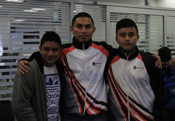 Deportistas de Q. Roo viajaron a  Chihuahua para asistir al Campeonato Nacional de Cuarta Fuerza y el Nacional de Novatos. (Ángel Castilla/SIPSE)