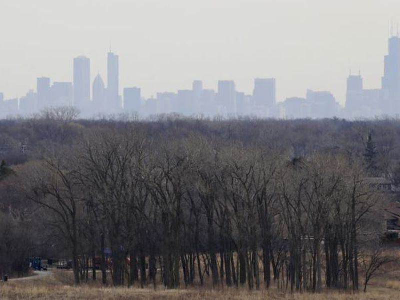 Smog is created when nitrogen oxides and volatile organic compounds cook in sunlight. (AP)