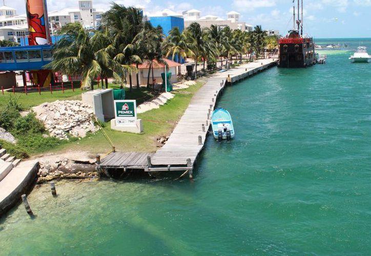 El 21 de marzo fue reportado la fuga de diésel en la zona del Puente Calinda. (Luis Soto/SIPSE)