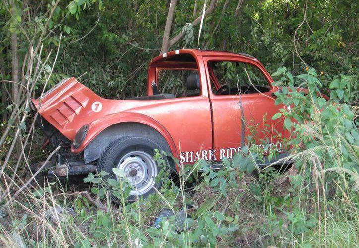 En los últimos dos meses han ocurrido alrededor de cinco accidentes en los que están involucrados vehículos rentados.  (Irving Canul/SIPSE)