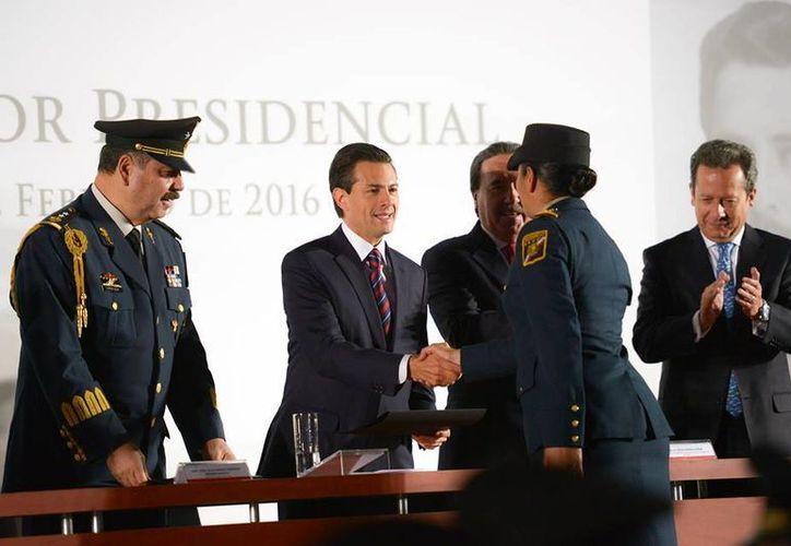El Presidente dijo que el Estado Mayor es una institución altamente calificada y profesional. (Presidencia)