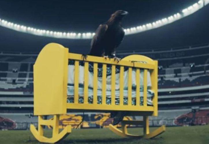 Captura de pantalla del comercial del América que recuerda a Chivas. (Club América)