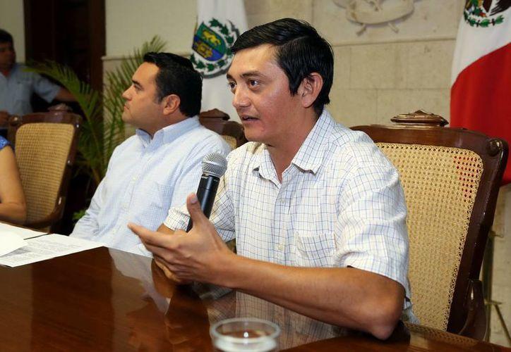 Renán Barrera y Jorge Gamboa. (Milenio Novedades)