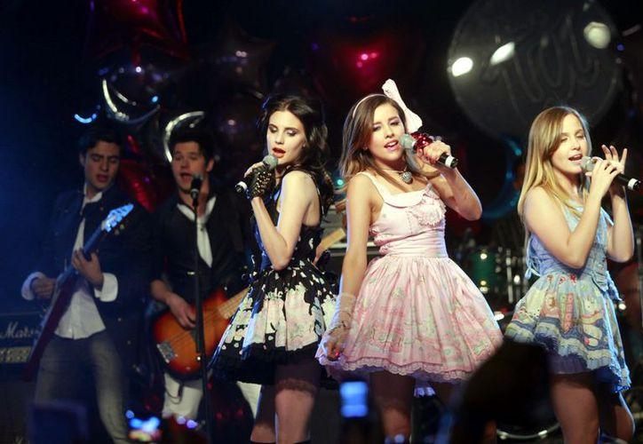Durante su presentación en el Auditorio Nacional el grupo cantó en total 17 canciones. (Agencia Reforma)