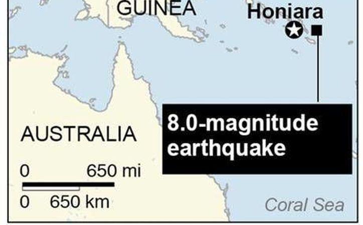 En la región afectada por el sismo reportan a personas tratando de ponerse a salvo de un maremoto. (Imagen: Agencias)