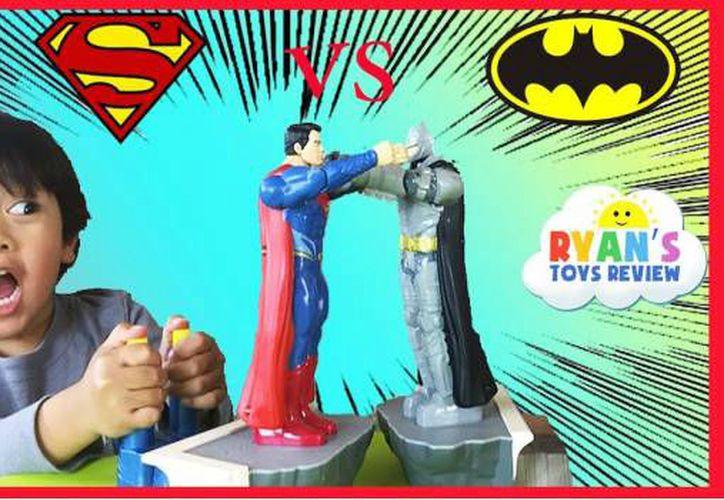 Ryan comenzó a interesarse por la plataforma de streaming y los videos con reseñas sobre juguetes cuando tenía 3 años de edad.  (Foto: Radio Fórmula)