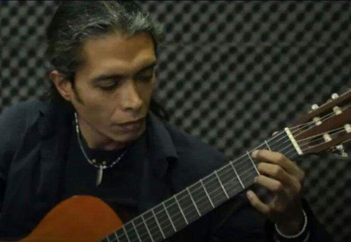 Gabriel del Río realizó un colectivo musical llamado Mariachi Combo. (Jocelyn Díaz/SIPSE)
