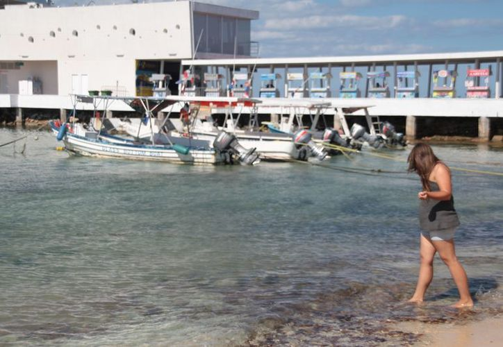 Por afectaciones del frente frio número nueve se cerró la navegación a las embarcaciones menores. (Julián Miranda/SIPSE)