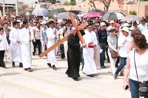Pasión y Muerte de Jesucristo, en Montecristo