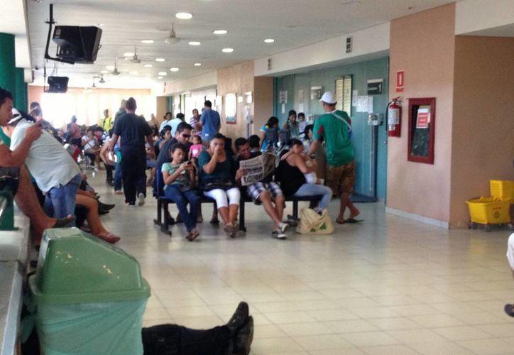 Aumentaron las consultas en el Hospital General. (Adrián Barreto/SIPSE)
