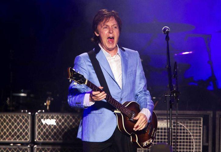 El cantante británico Paul McCartney, en el estadio Engenhao de Río de Janeiro (Brasil).  (EFE/Archivo)