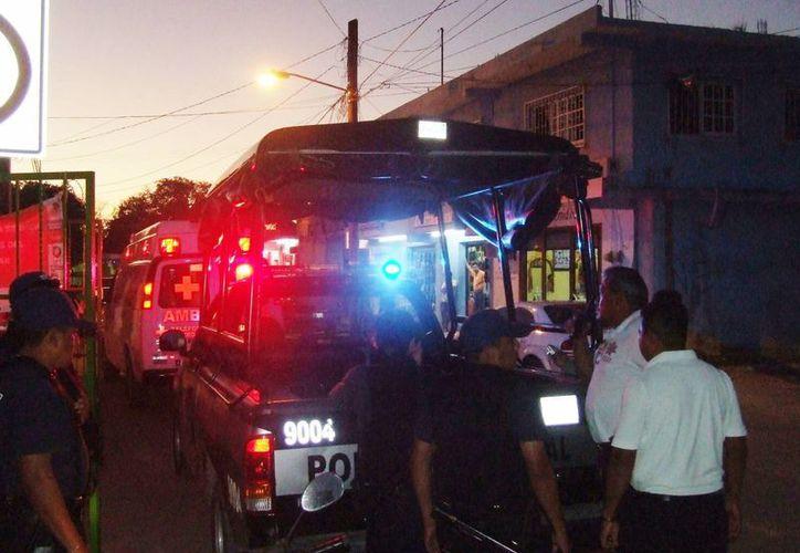 La policía atendió seis robos la semana pasada. (Rossy López/SIPSE)
