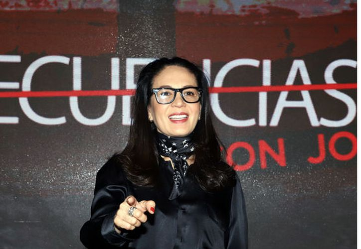 Sobre que Verónica Castro le llame malagradecida, Yolanda Andrade aseguró que no le ofende. (Agencia Reforma)
