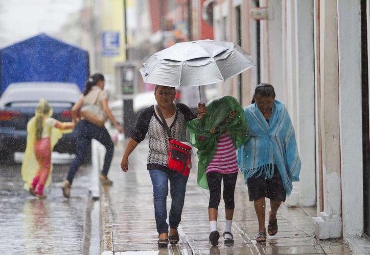 El SMN pronosticó lluvias intensas en gran parte del país, incluido Yucatán; además se prevé que el frente frío número siete mantenga las temperaturas bajas en gran parte del territorio nacional. (Contexto/ Archivo Notimex)