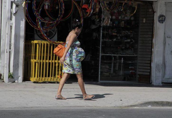Los cambios en el IMSS benefician a las mujeres embarazadas. (Tomás Álvarez/SIPSE)