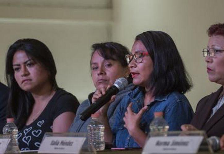 Las mujeres fueron acusadas de obstaculizar la vía pública y otros cargos, y posteriormente declaradas inocentes. (El Financiero)