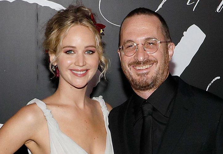 Jennifer Lawrence termina con el director Darren Aronofsky. (Contexto/Internet).