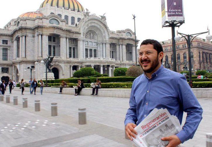 Martí Batres manifestó que el gasto erogado es para el funcionamiento cotidiano de Movimiento Regeneración Nacional en la Ciudad de México.(twitter.com/martibatres)